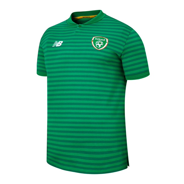 NB FAI 2019 Travel Polo, Green