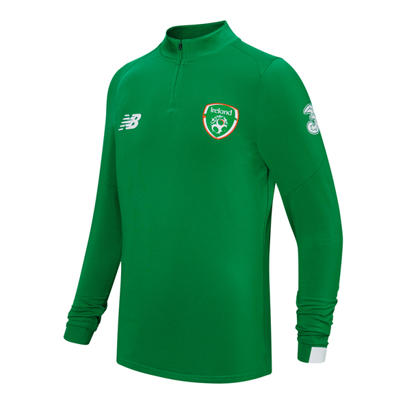 NB FAI 2019 Kids' On-Pitch Midlayer, Green
