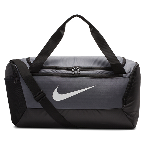 Nike Brasilia Duffel Bag 9.0 - Small, Grey