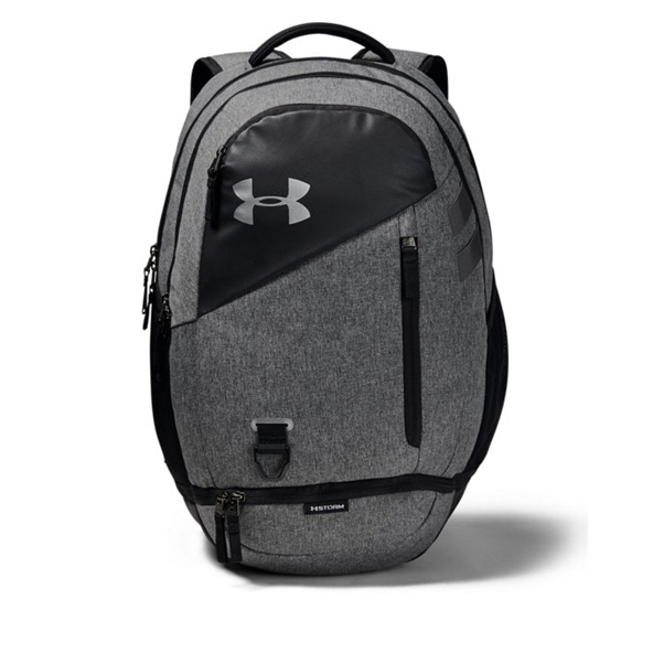 Under Armour® Hustle 4.0 Backpack, Black