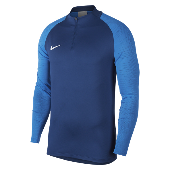 Nike Dry Strike Drill Top, Blue