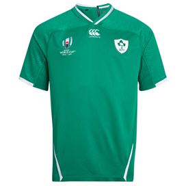 Canterbury IRFU RWC19 Test Home Jersey, Green