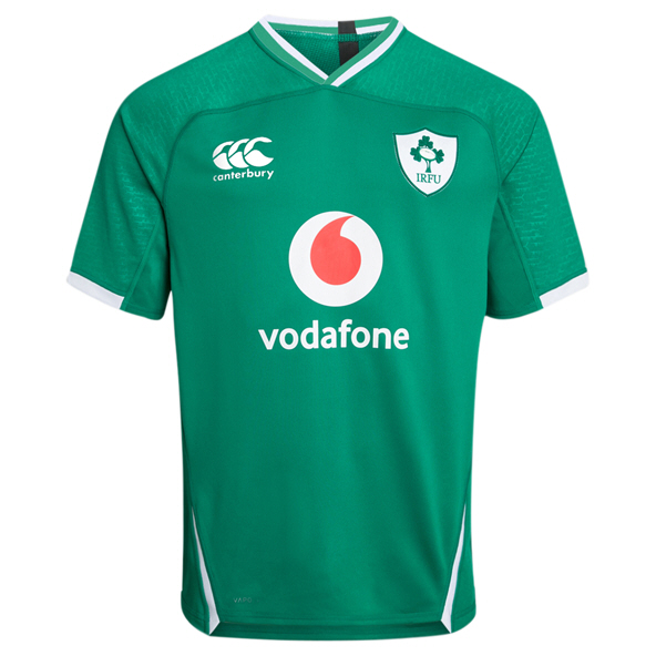 Canterbury IRFU 2019 Kids' Pro Home Jersey, Green
