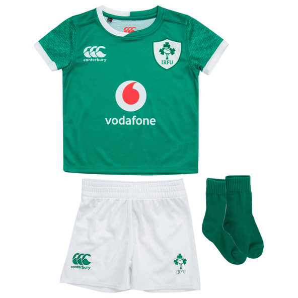 Canterbury IRFU 2019 Home Infant Kit, Green