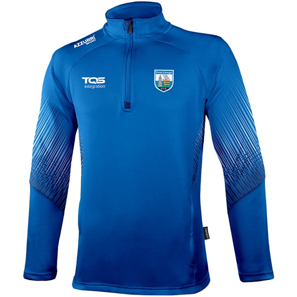 Azzurri Waterford Kinvara ¼ Zip Top, Blue