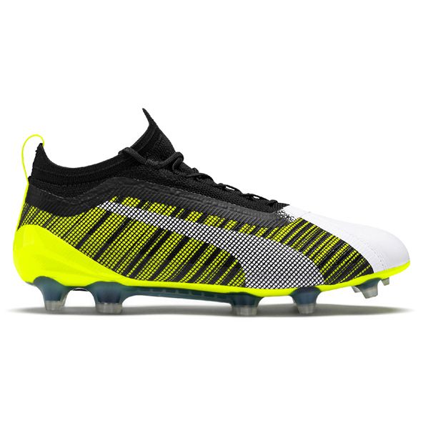 Puma ONE 5.1 FG AG Football Boot, Yellow