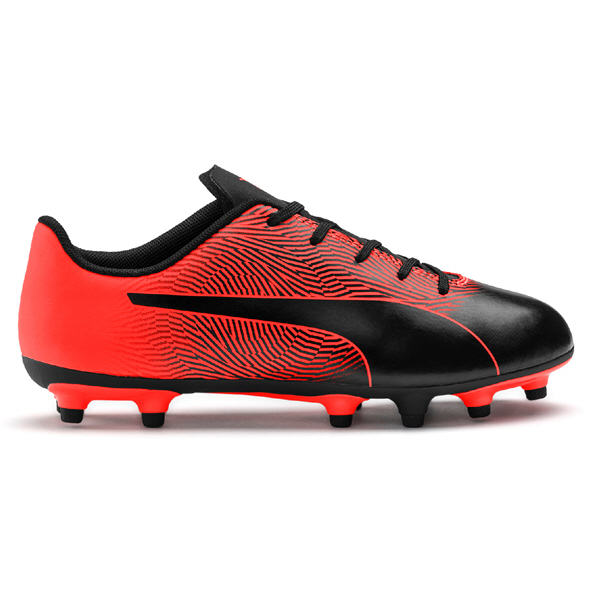 Puma Spirit II FG Junior Kids' Football Boots, Black