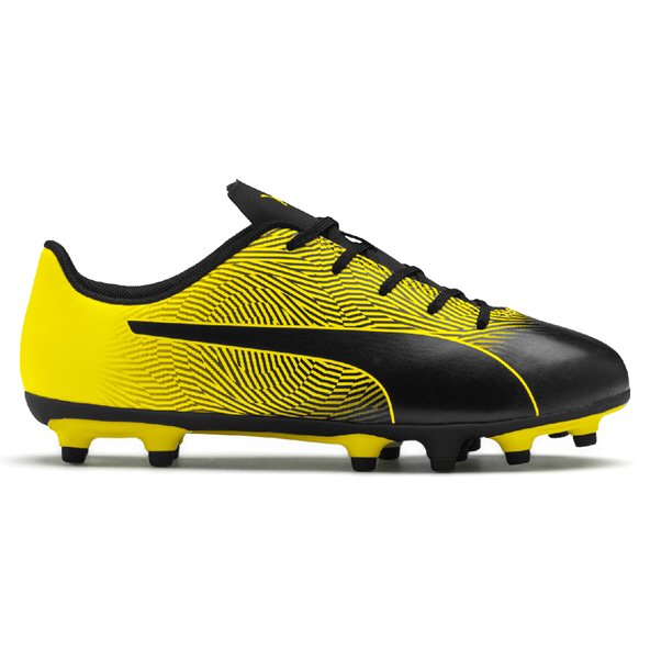 Puma Spirit II FG Junior Kids' Football Boot, Black