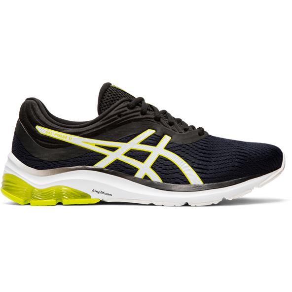 Asics GEL-PULSE 11 Mens Run Black/Lime