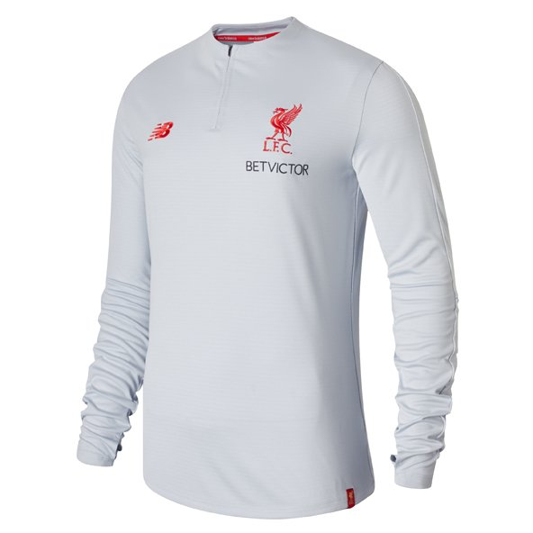 NB Liverpool 2019 Training Mid Layer Top, Grey