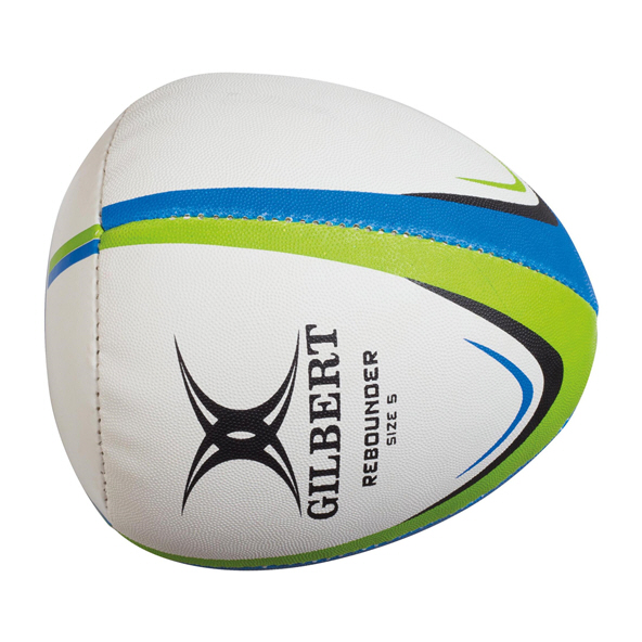 Gilbert Rebounder Training Ball - Size 5, White