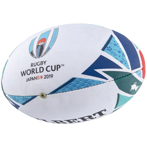 Gilbert RWC19 Sirius Match Ball - Size 5, White