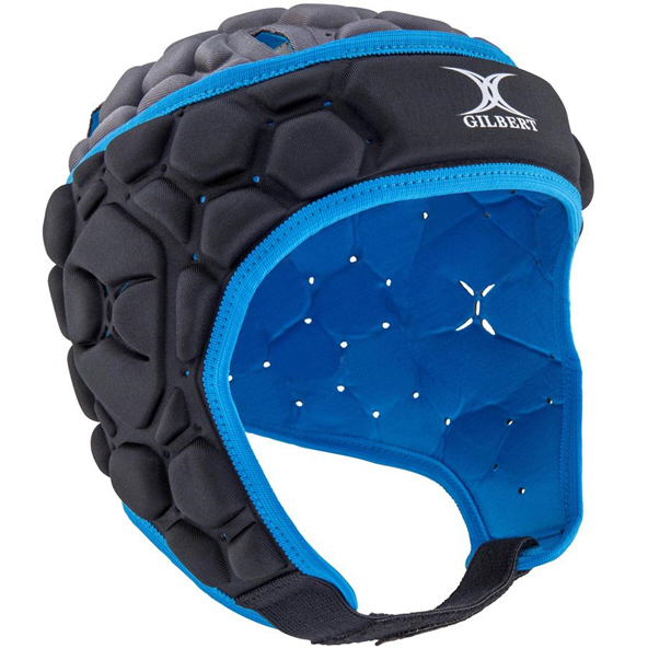 Gilbert Falcon 200 Kids' Rugby Headgear, Electric Blue