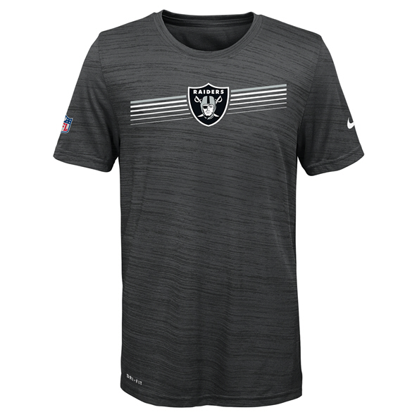 Nike Raiders 19 Sideline Kids Tee Black