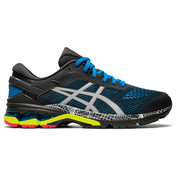 Asics Gel-Kayano 26 Lite-Show Men's Running Shoe, Grey