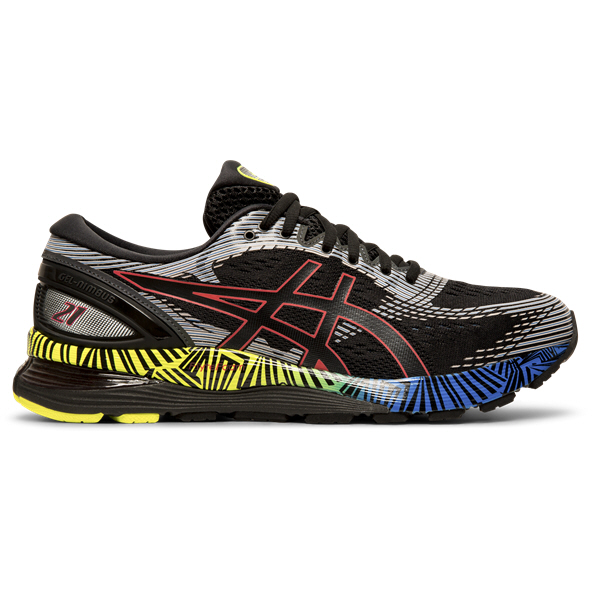 Asics Gel-Nimbus 21 Lite-Show Men's Running Shoe, Black