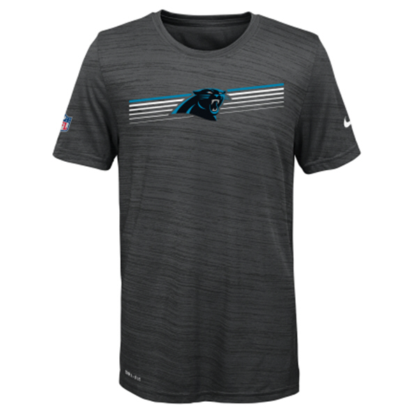 Nike Panthers 19 Sideline Kids Tee Black