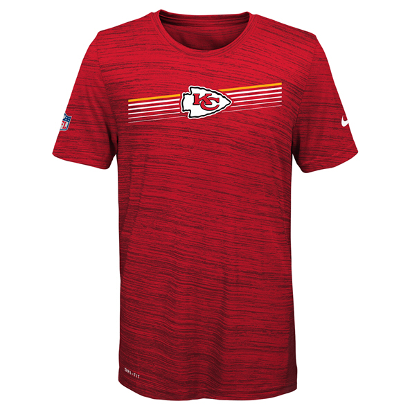 Nike Chiefs 19 Sideline Kids Tee Red