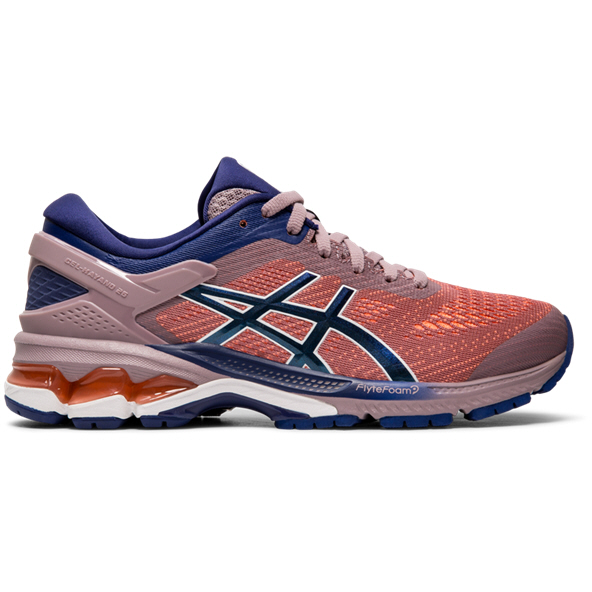 Asics Gel-Kayano 26 Women's Running Shoe, Violet Blush