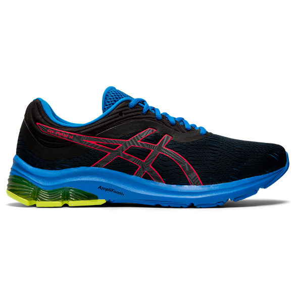 Asics Gel-Pulse 11 Lite-Shoe Men's Running Shoe, Black