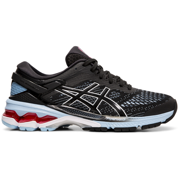 Asics Gel-Kayano 26 Women's Running Shoe, Black