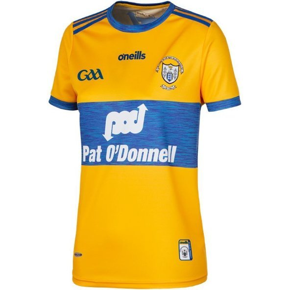 O'Neills Clare 19 Hm Wmn Fit Jersey Yell