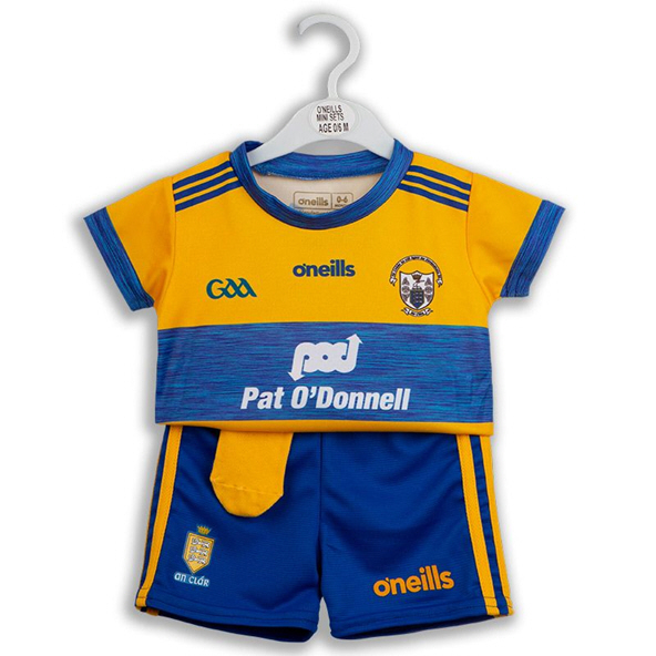 O'Neills Clare 19 Home Kids Kit Yellow