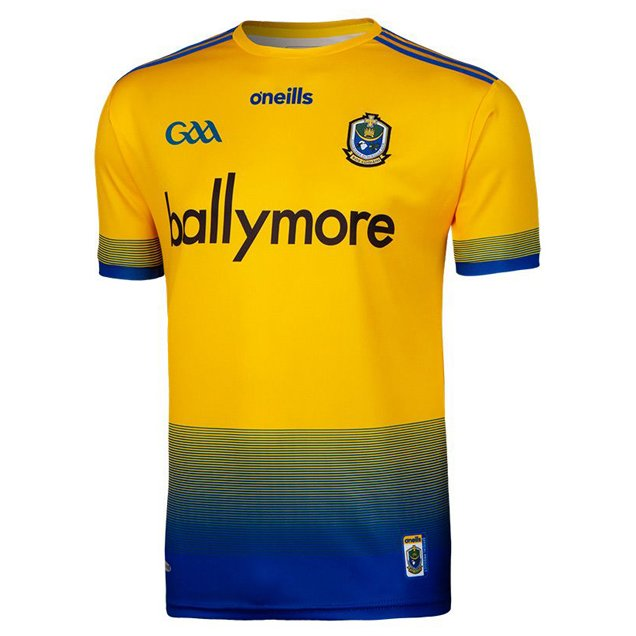 O'Neills Roscommon 2019 Junior Home Jersey, Yellow