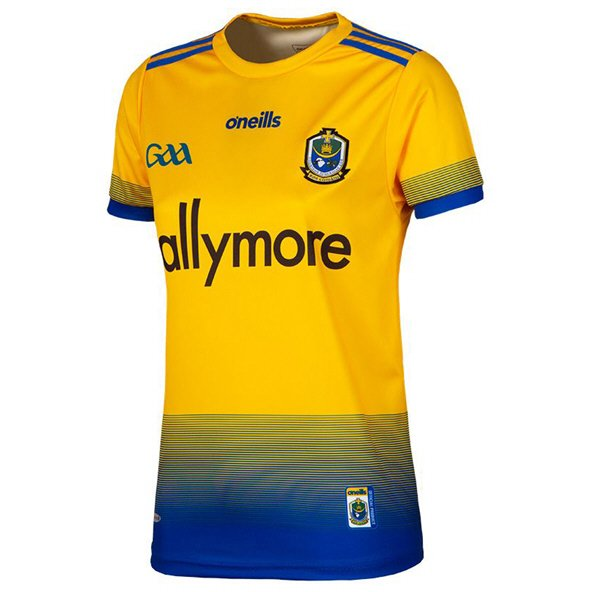 O'Neills Roscommon 2019 Women's Home Jersey, Yellow