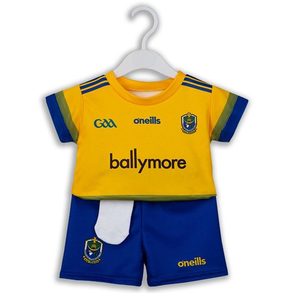 O'Neills Roscommon 2019 Home Kids' Kit, Yellow