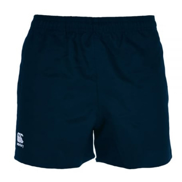 Canterbury Polyester Kids' Pro Short, Navy