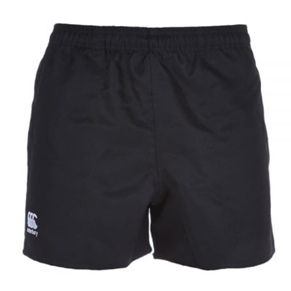 Canterbury Polyester Pro Short, Black