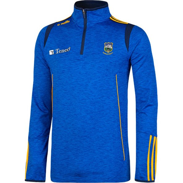O'Neills Tipperary Solar Brushed ½ Zip Top, Blue