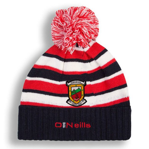 O'Neills Mayo Beacon 19 Bobble Black/Red