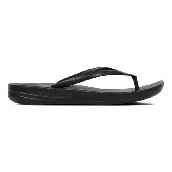 FitFlop™ iQushion Women's Pearlised Sandal, Black
