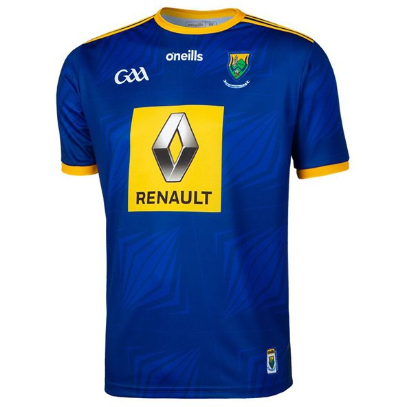 O'Neills Wicklow 2019 Kids' Home Jersey, Blue
