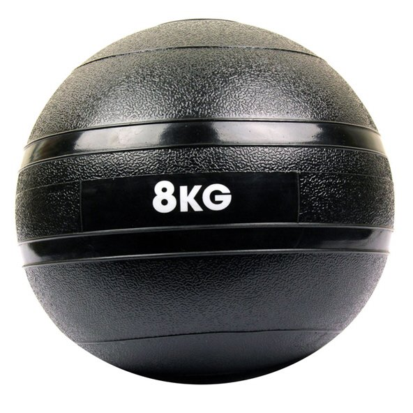 Fitness Mad 8Kg Slam Ball Black