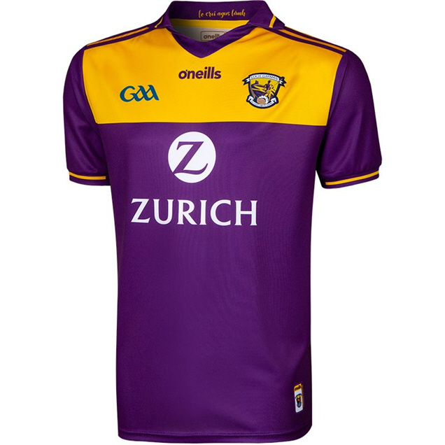 O'Neills Wexford 2019 Player Fit Home Jersey, Purple