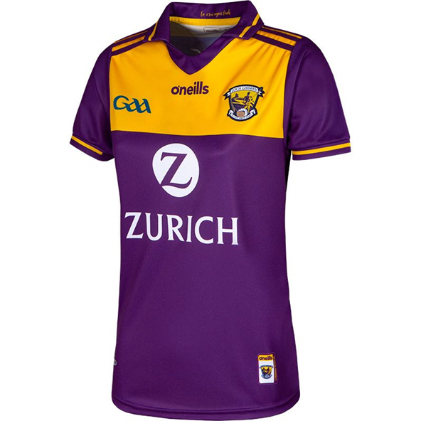 O'Neills Wexford 2019 Women's Home Jersey, Purple
