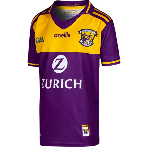 O'Neills Wexford 2019 Kids' Home Jersey, Purple