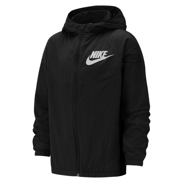 Nike Swoosh Woven Boys' Jacket Black