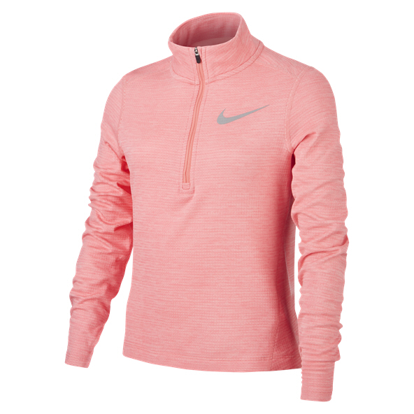 Nike Run ½ Zip Girls' Running Top, Pink