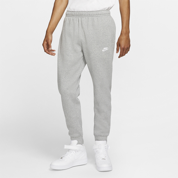 Nike Swoosh Club BB Men's Joggers Grey