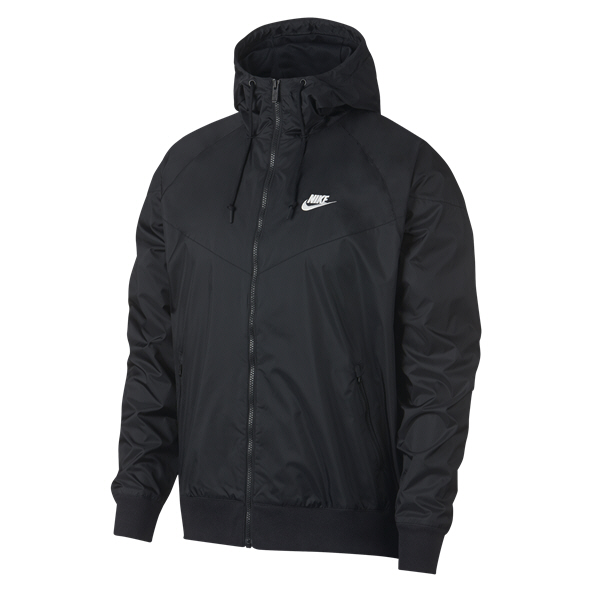Nike Swoosh Men's Hooded Jacket, Black