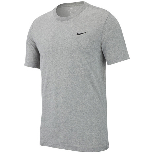 Nike Dry Solid Men's Crew T-Shirt Grey/Heather