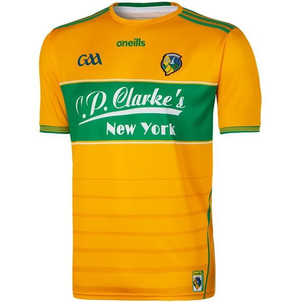 O'Neills Leitrim 2019 Home Goalkeeper Jersey, Yellow
