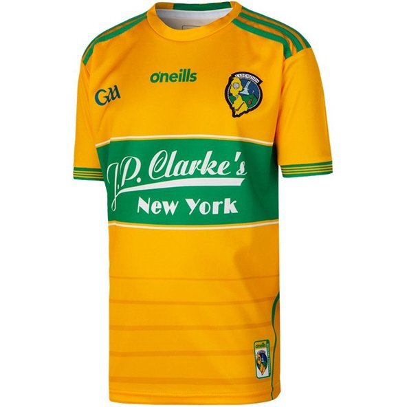 O'Neills Leitrim 2019 Kids' Home GK Jersey, Yellow