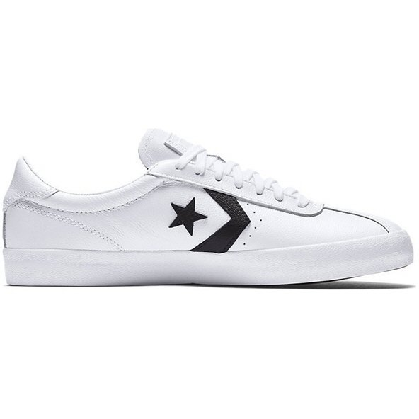 Converse Leather-Ox Unisex Fw Wht/Blk