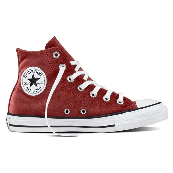 Converse CT All Star Velvet Wmn Fw Red