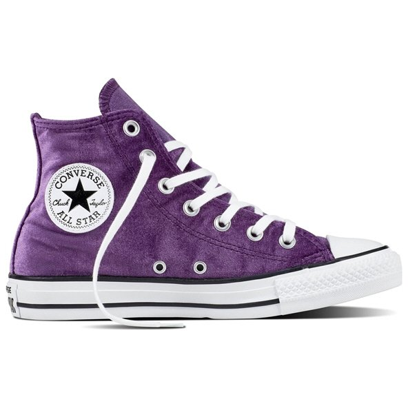 Converse CT All Star Velvet Wmn Fw Purpl